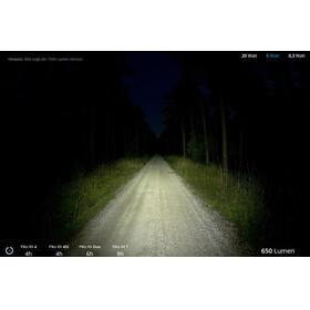 Lupine Piko RX Duo SmartCore - Lampe frontale - 1800 lm FastClick avec commande à distance Bluetooth + support noir